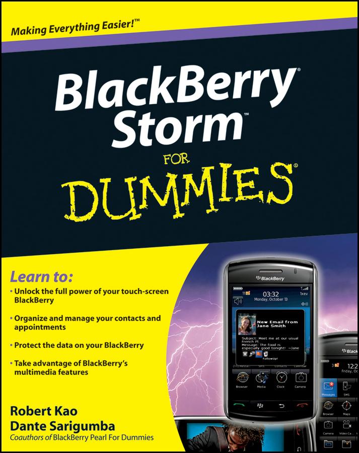 BlackBerry Storm For Dummies
