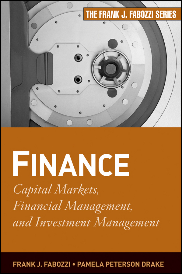 Finance. Capital Markets, Financial Management, and Investment Management