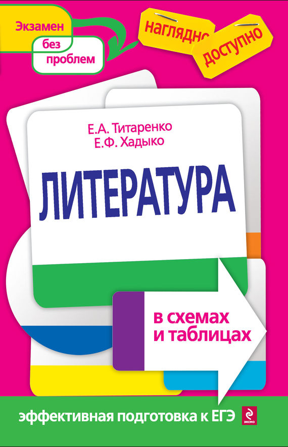 Книга Литература в схемах и
