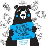 В погоне за русским языком: заметки пользователя. Невероятные истории из жизни букв, слов и выражений