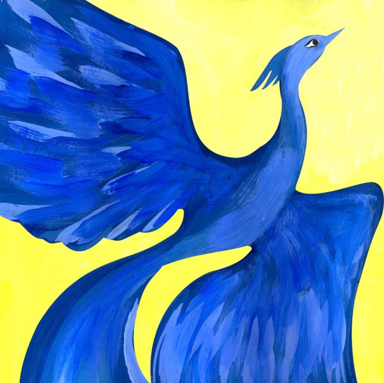 Картинки синяя птица метерлинк, годовщиной