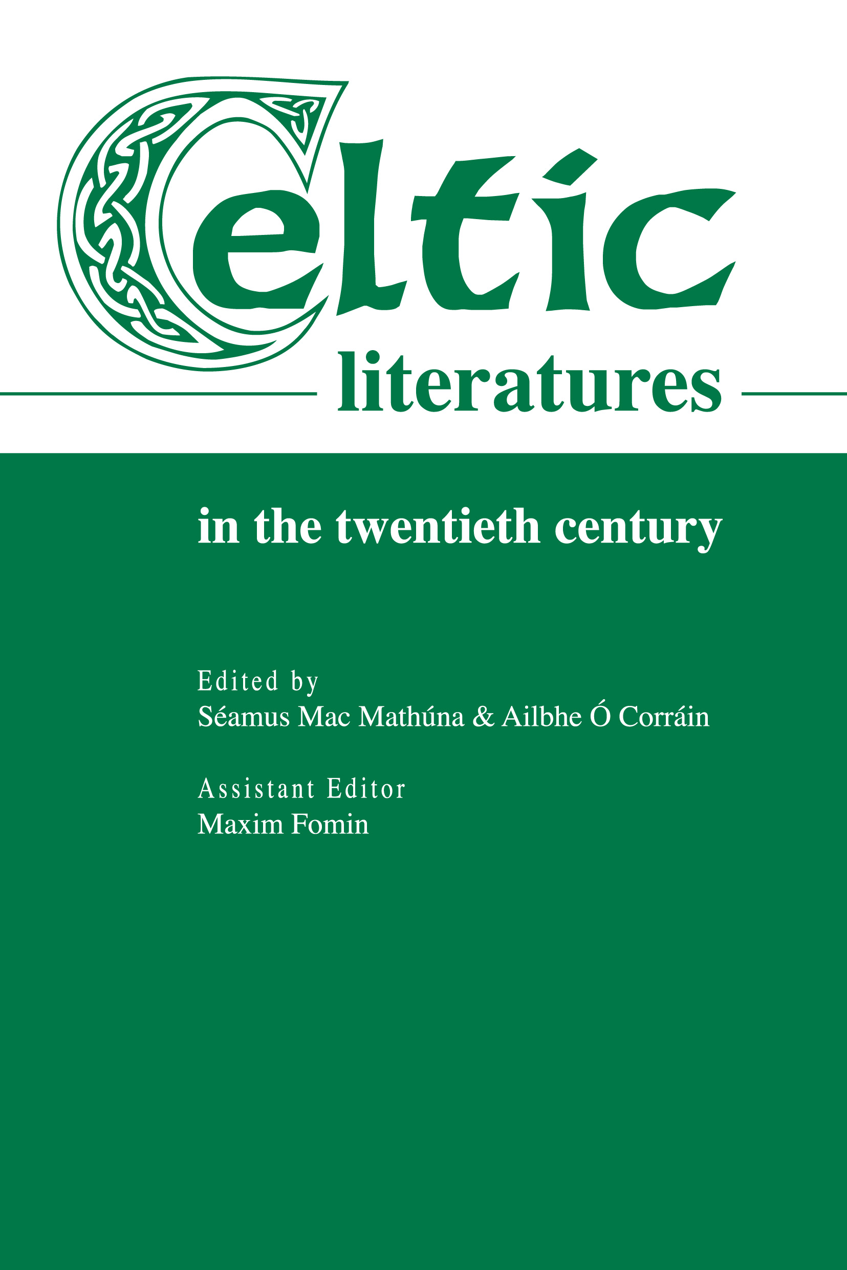 Сборник статей Celtic Literatures in the Twentieth Century peace education at the national university of rwanda