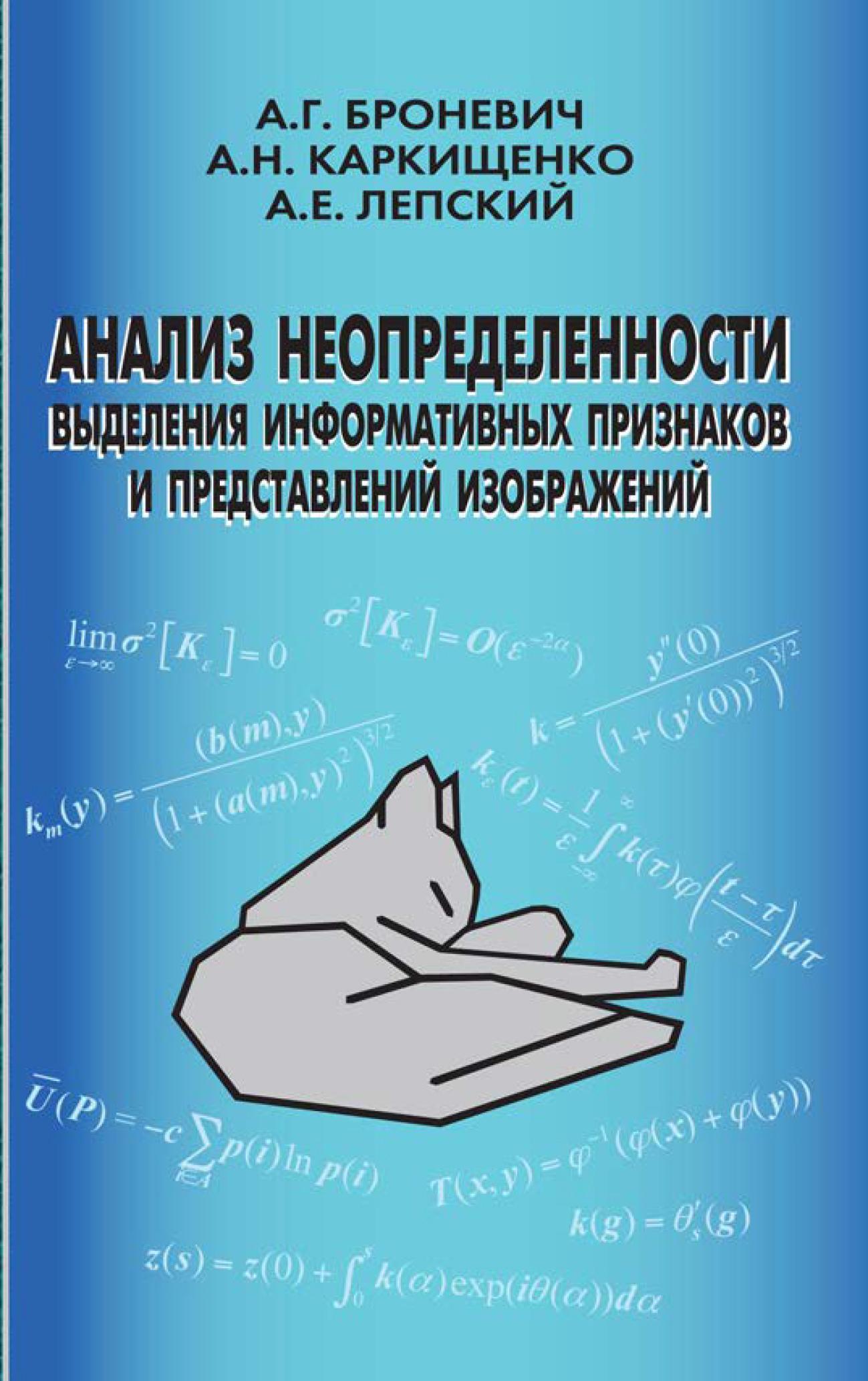 Александр Лепский Анализ неопределенности выделения информативных признаков и представлений изображений цена