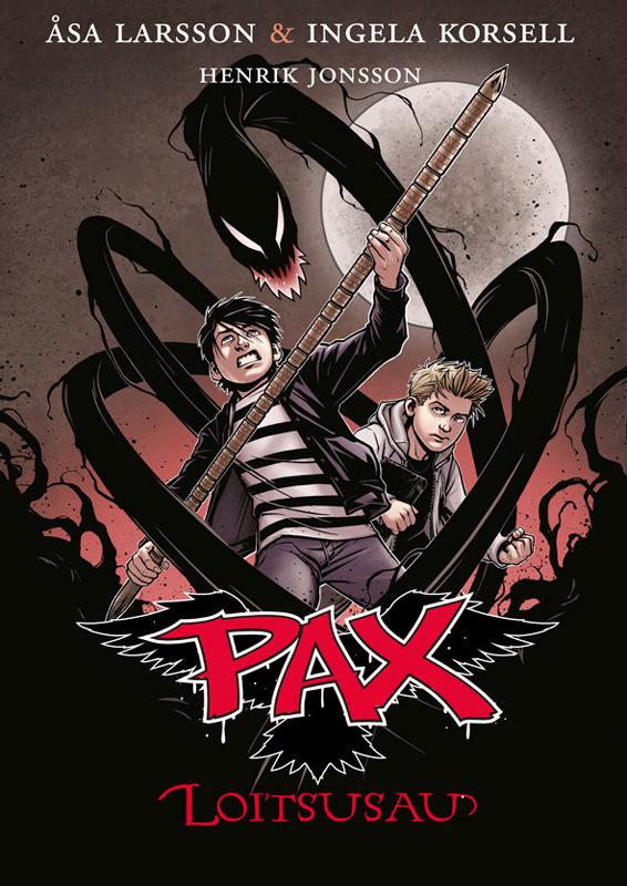 Оса Ларссон Loitsusau. Pax: 1. raamat оса ларссон kummituslaps pax 3 raamat