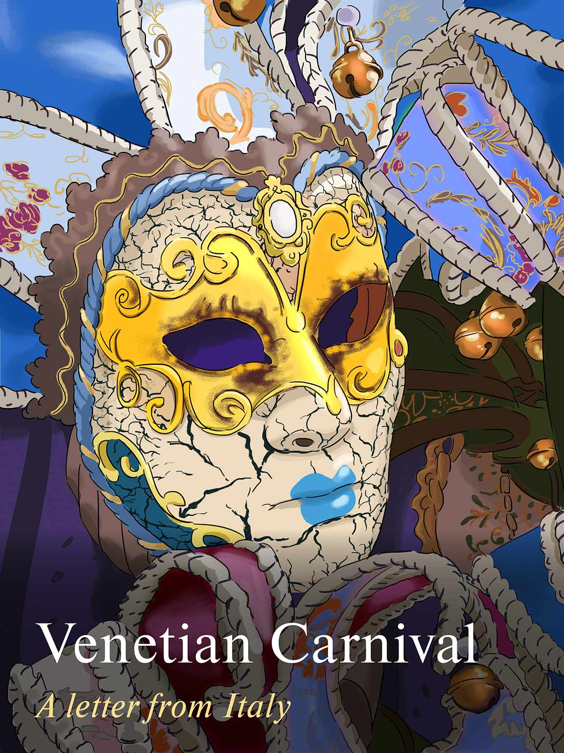 Отсутствует Venetian Carnival. A Letter from Italy the venetian mask