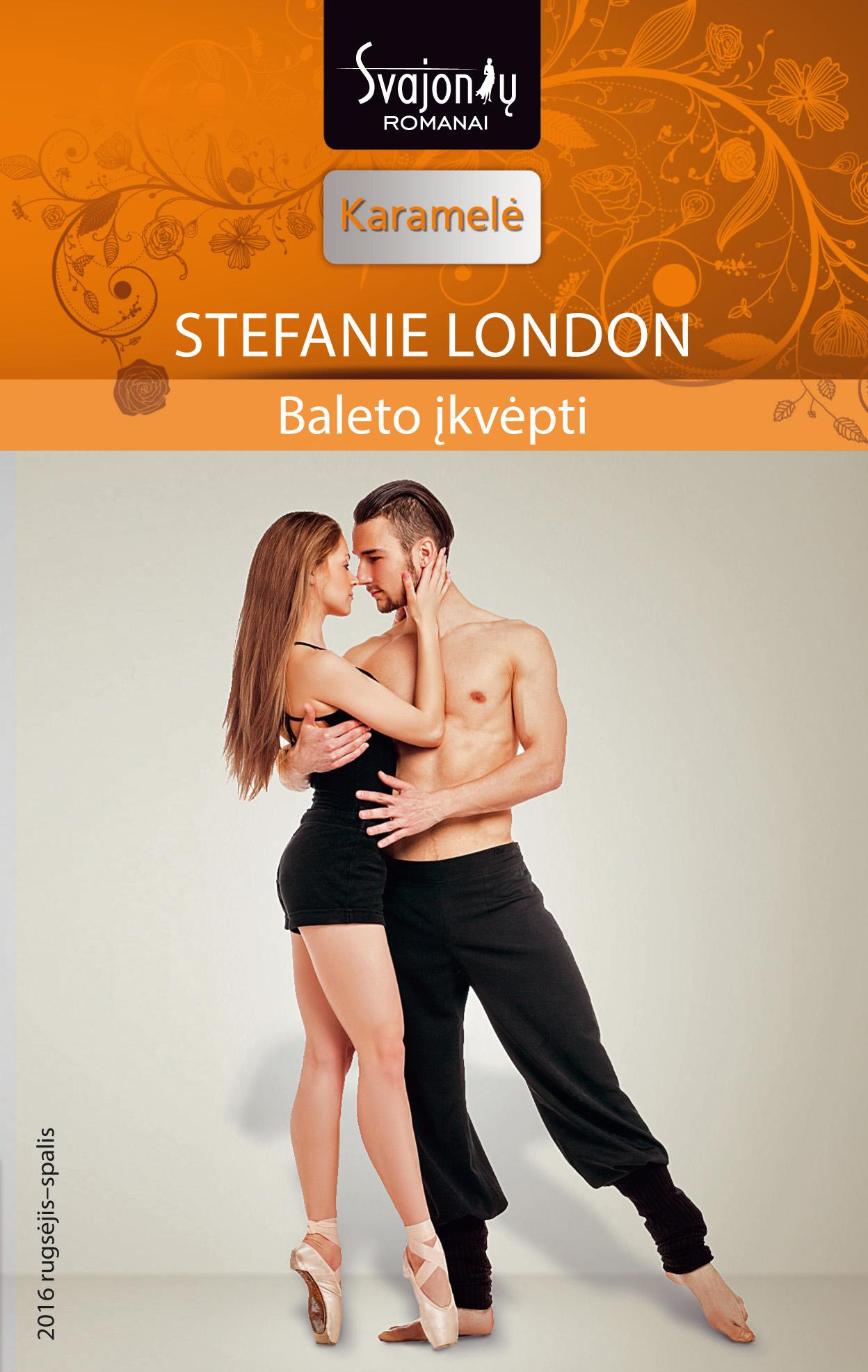 Stefanie London Baleto įkvėpti granto granto gr 0530 a