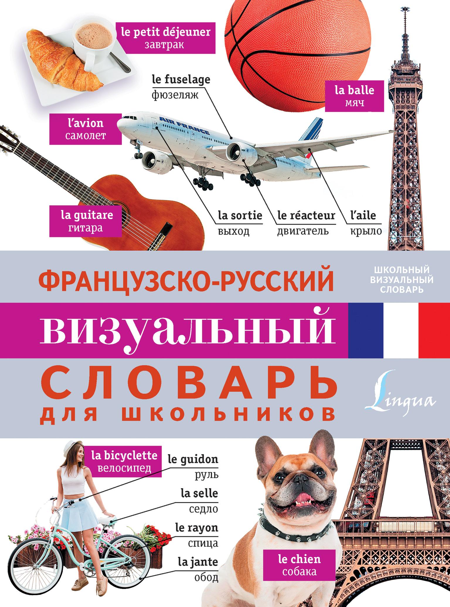 Отсутствует Французско-русский визуальный словарь для школьников англо русский визуальный словарь для школьников
