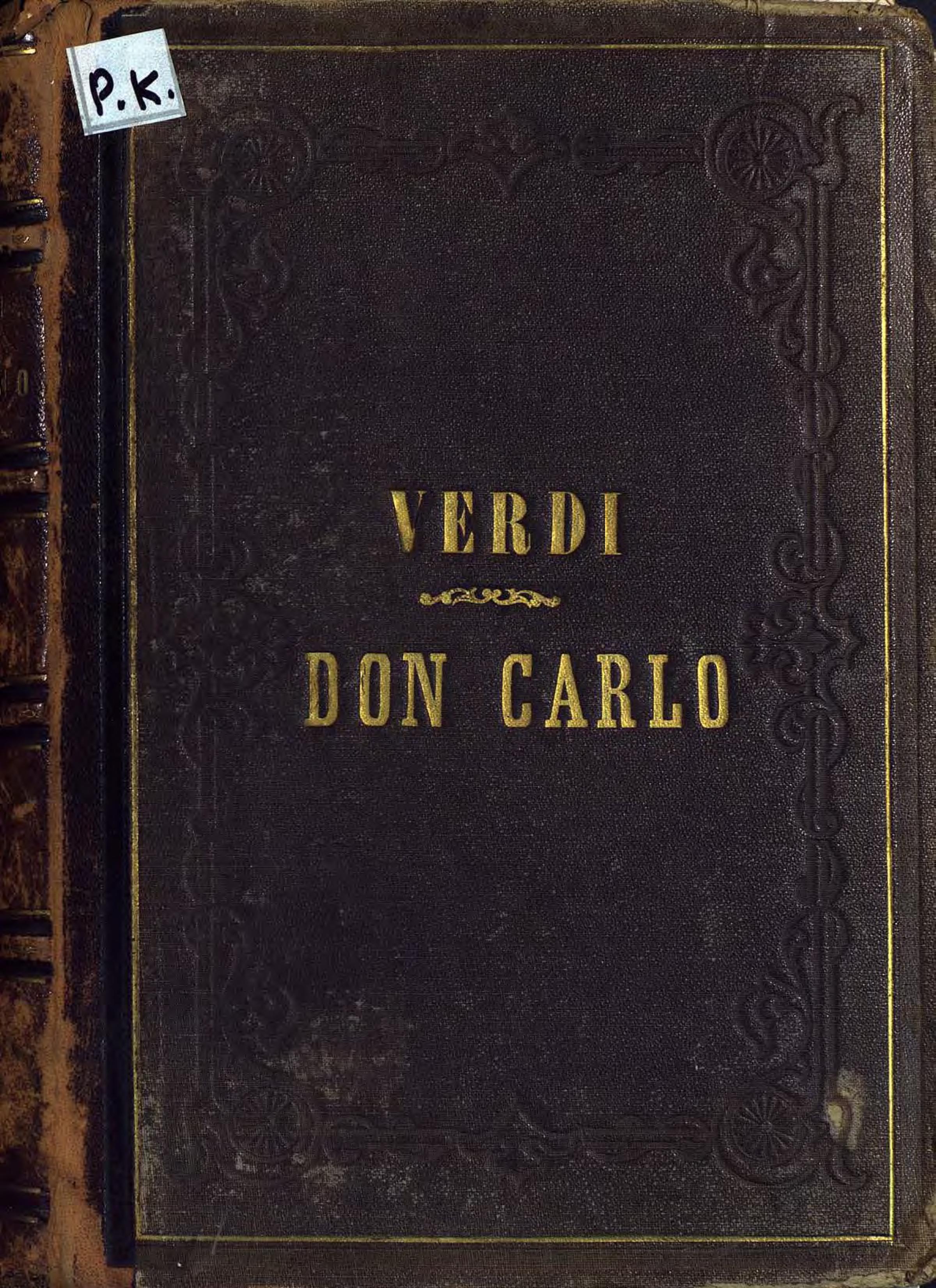 Джузеппе Верди Don Carlo недорго, оригинальная цена