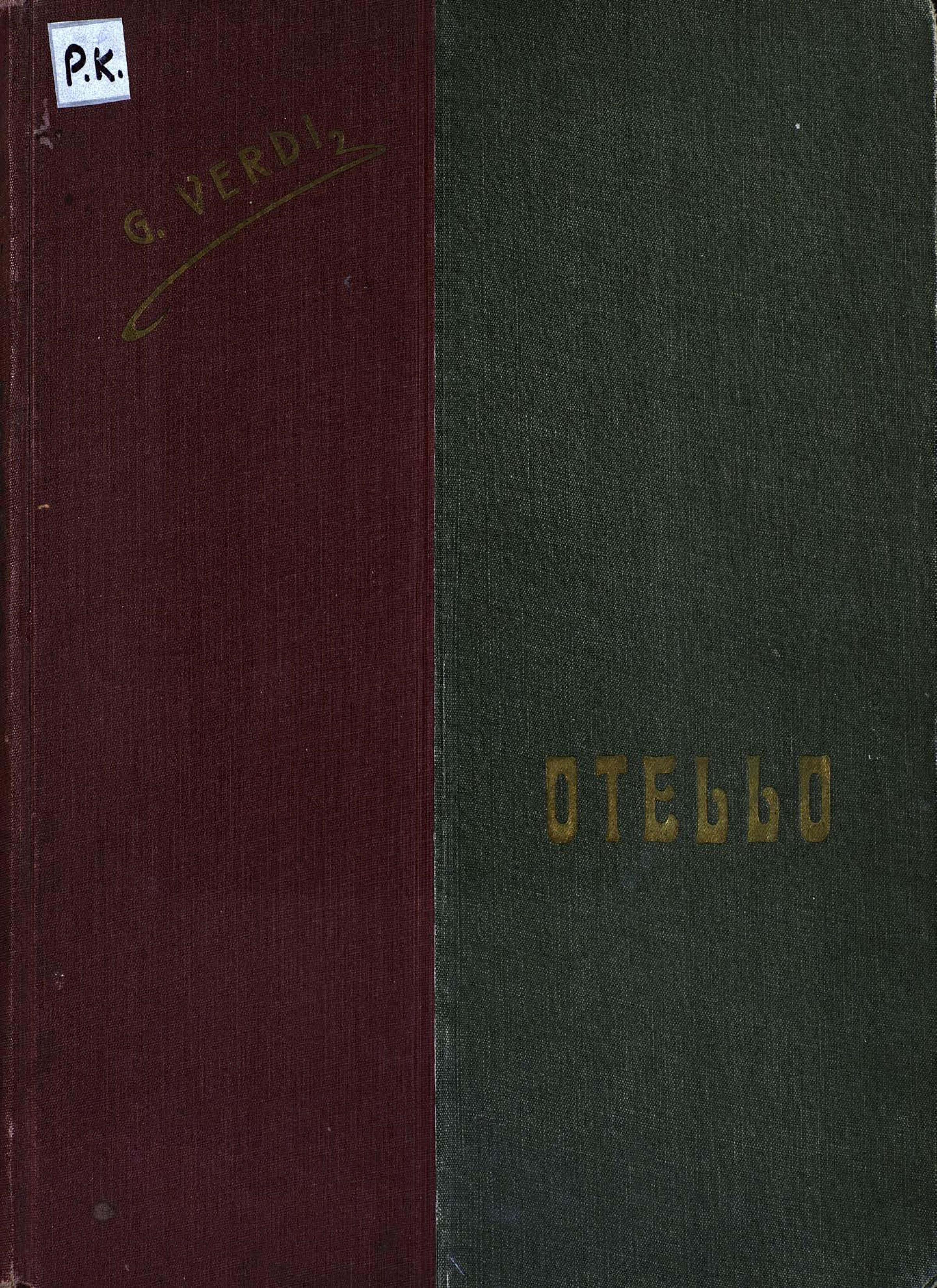Джузеппе Верди Otello недорго, оригинальная цена