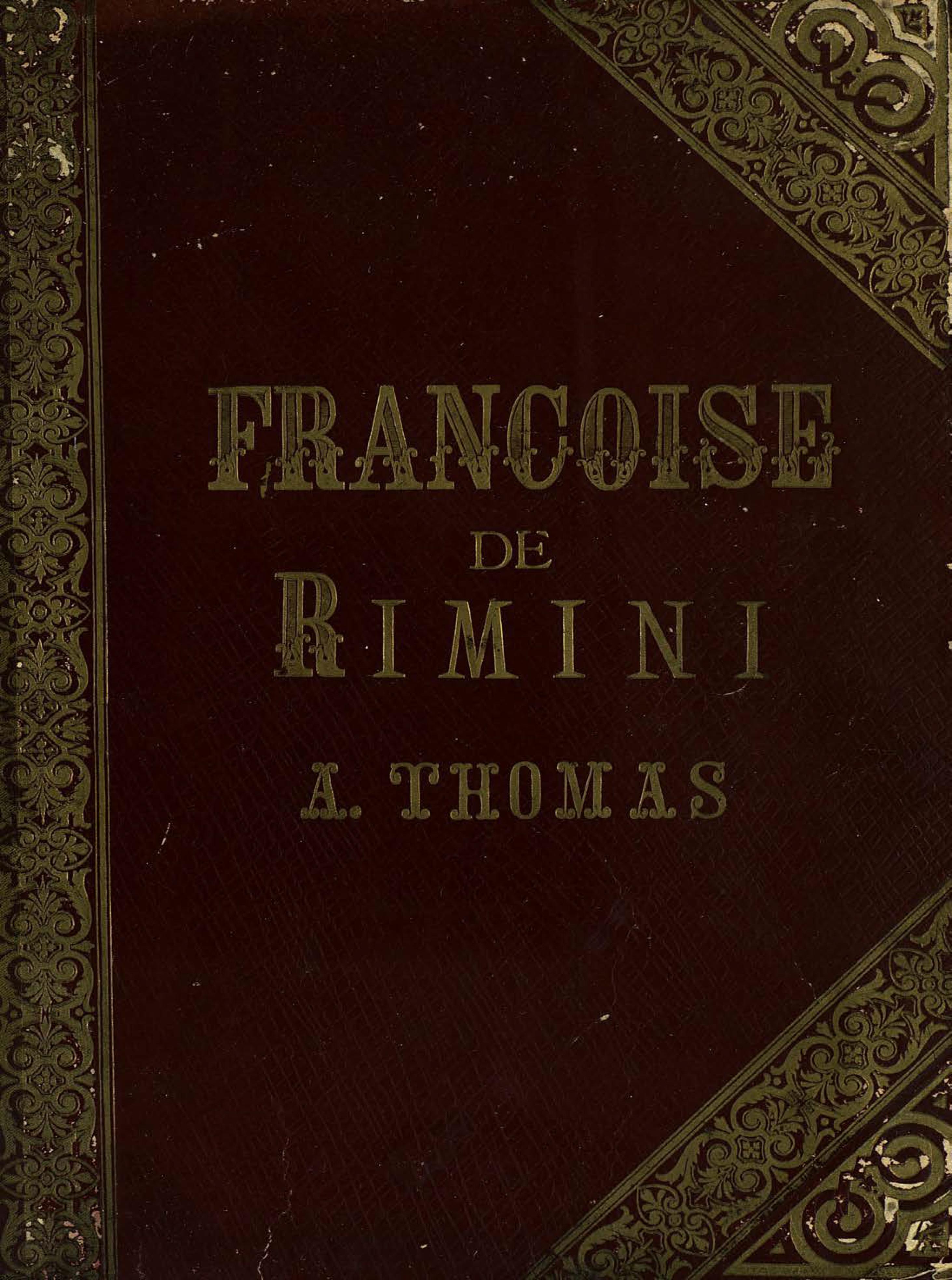 Шарль Луи Амбруаз Тома Francoise de Rimini