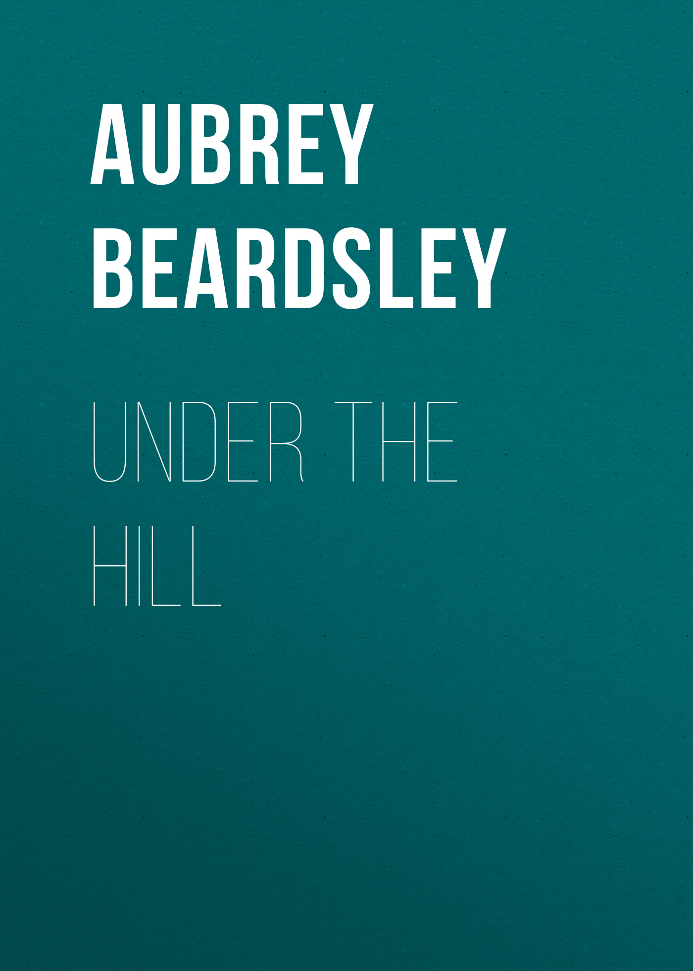 Beardsley Aubrey Under the Hill джемпер quiksilver quiksilver qu192emcgts0