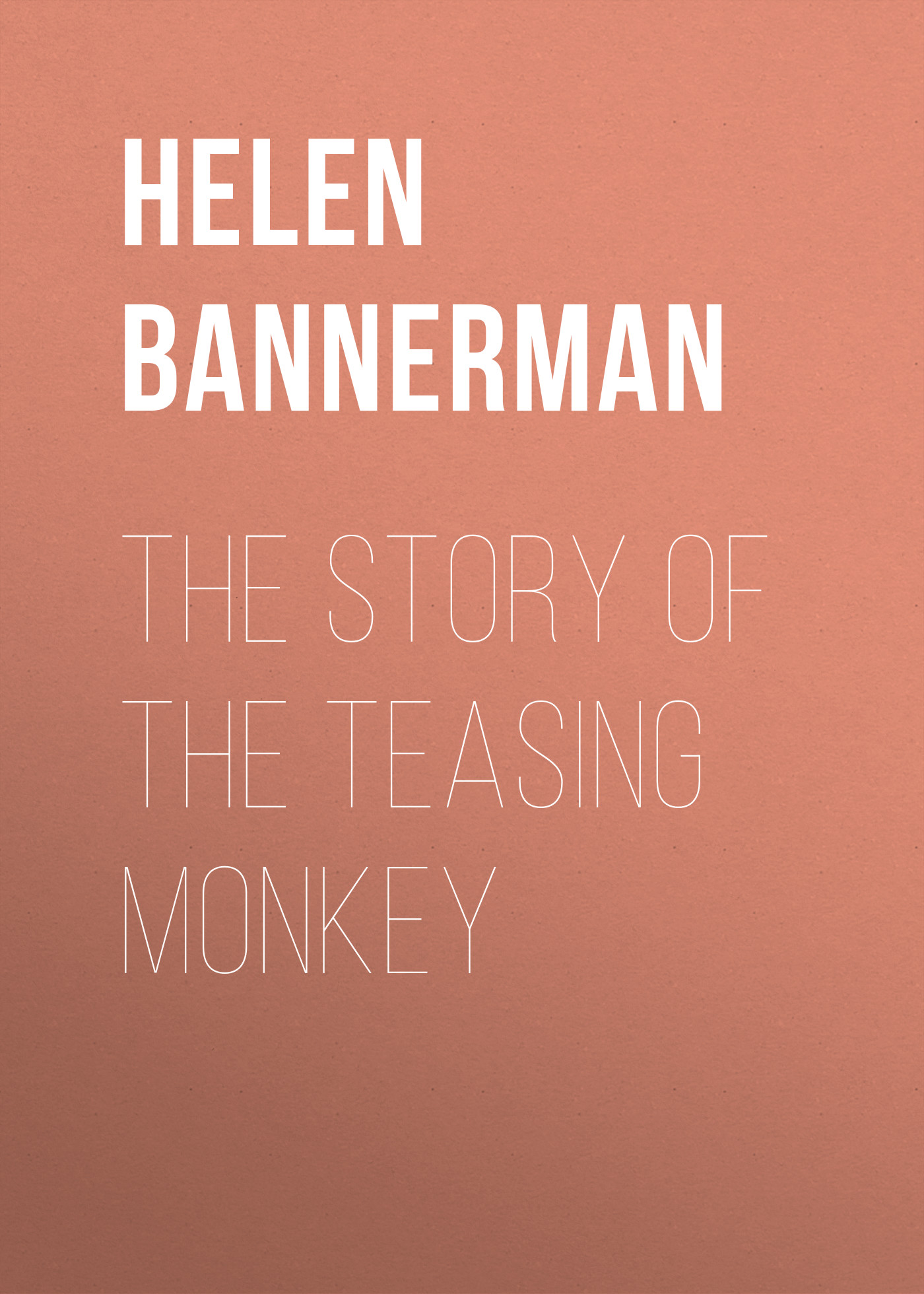 Bannerman Helen The Story of the Teasing Monkey толстовка wearcraft premium унисекс printio michael jackson