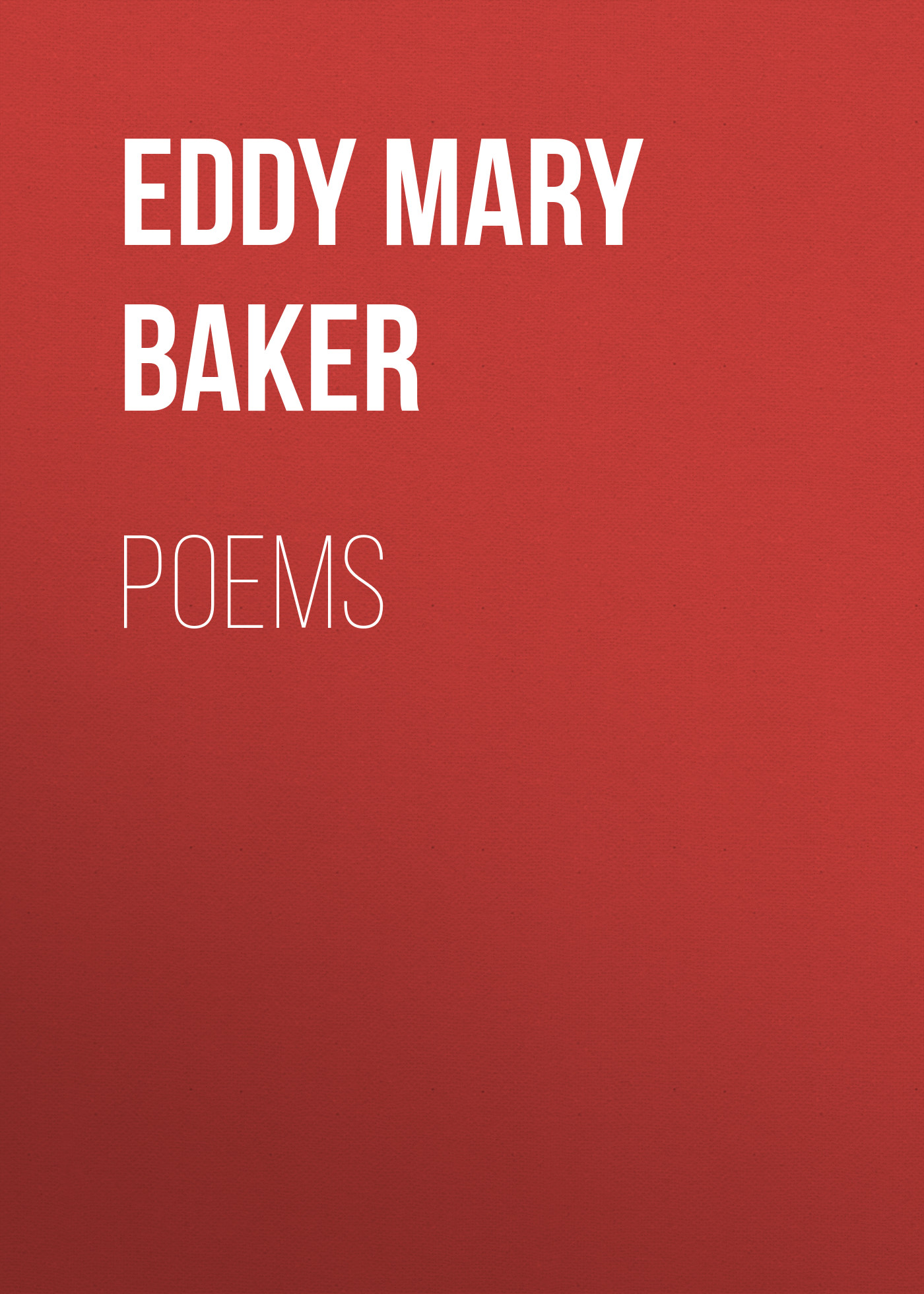 Eddy Mary Baker Poems mary j bryant prayers poems and precious moments