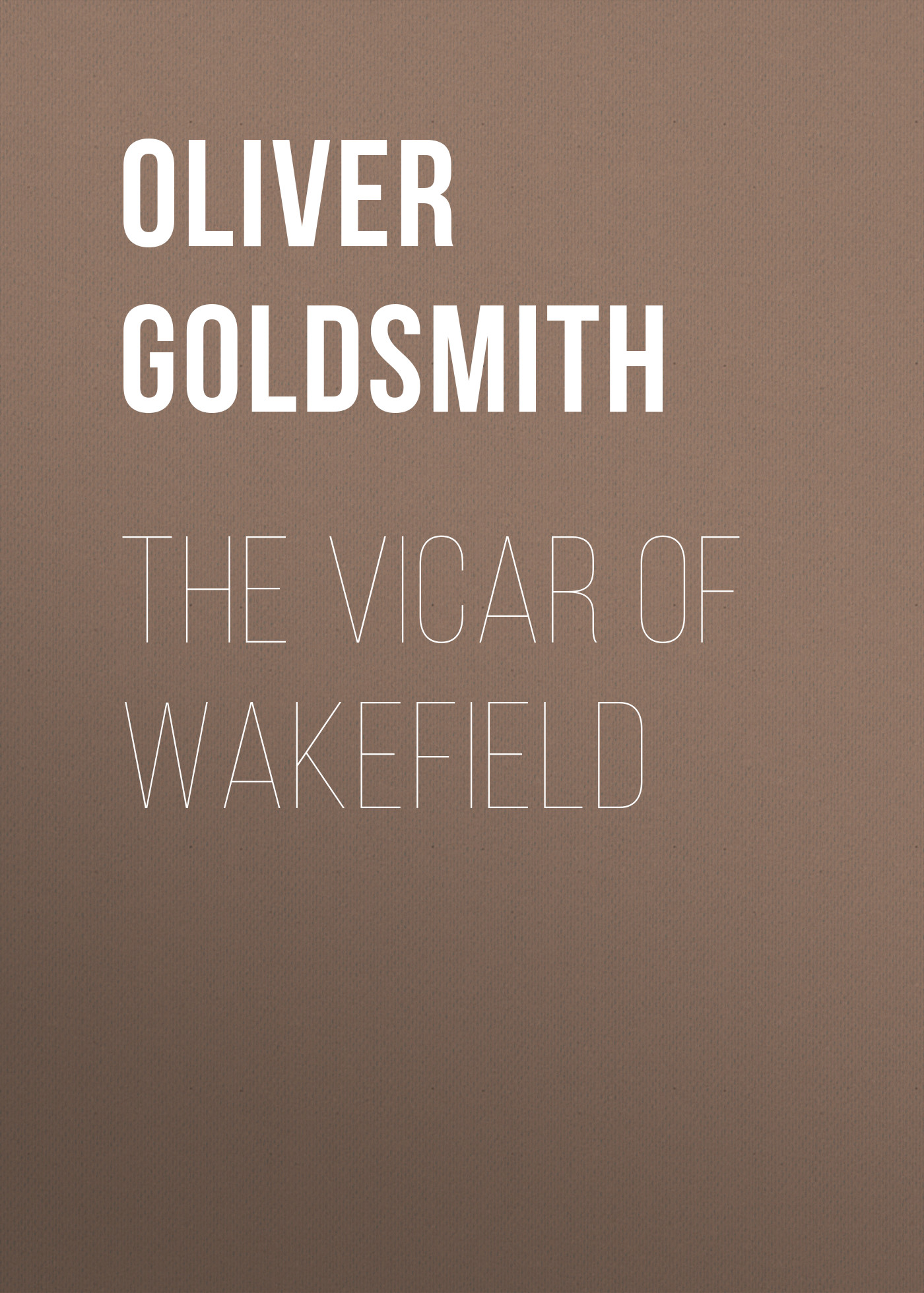 Oliver Goldsmith The Vicar of Wakefield oliver goldsmith 924049