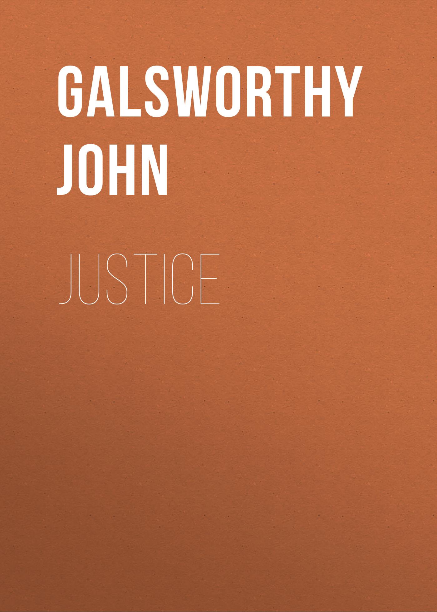 Galsworthy John Justice недорго, оригинальная цена