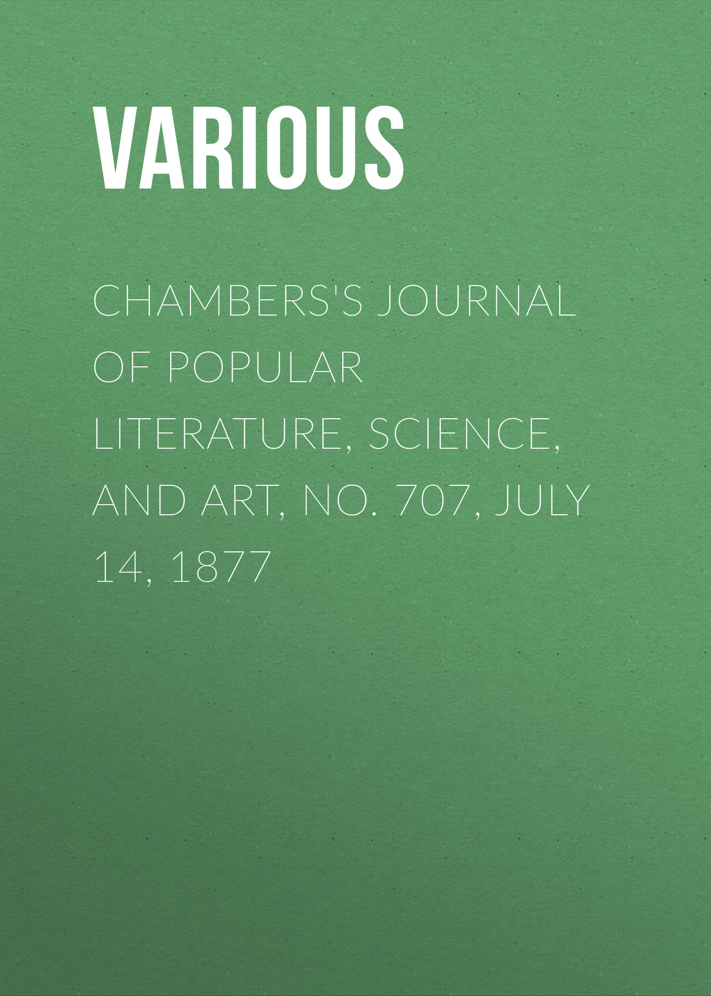 Various Chambers's Journal of Popular Literature, Science, and Art, No. 707, July 14, 1877 one box stylish various infauna and anchor shape diy nail art decoration
