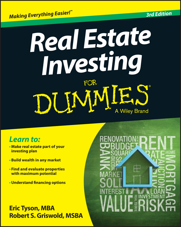 Eric Tyson Real Estate Investing For Dummies gary eldred w the beginner s guide to real estate investing