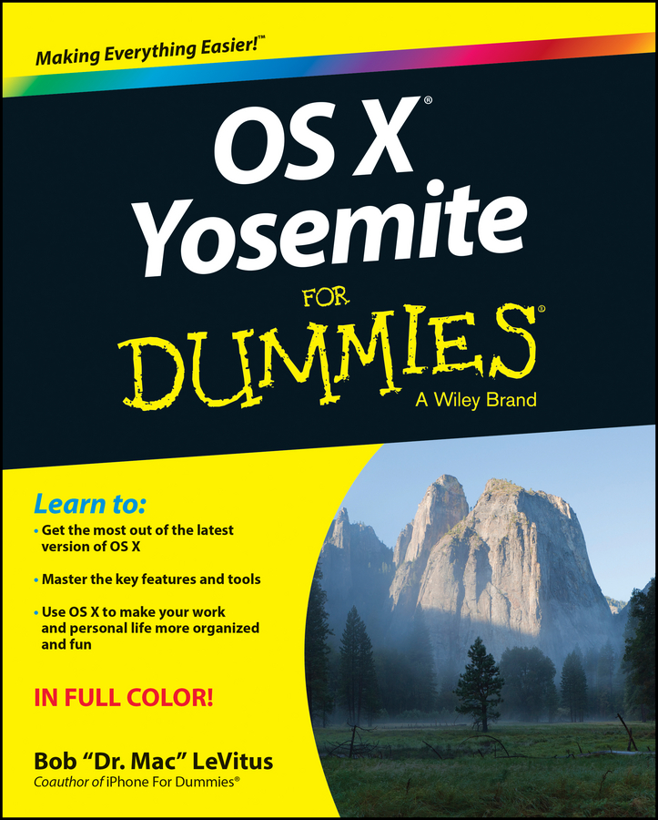 Bob LeVitus OS X Yosemite For Dummies цена