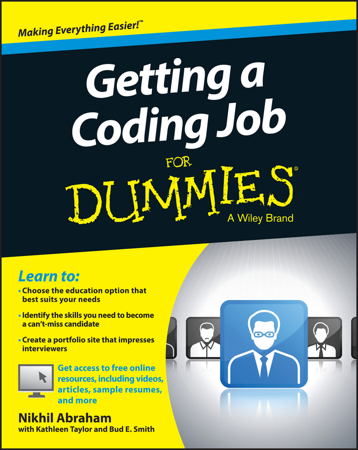 Nikhil Abraham Getting a Coding Job For Dummies david rose getting a social media job for dummies isbn 9781119002710