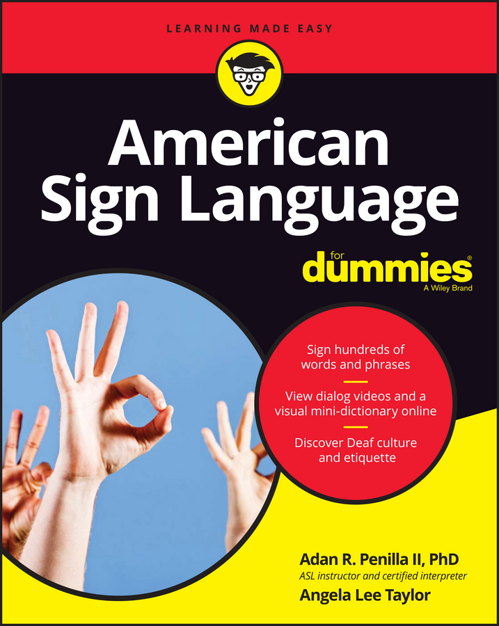 Angela Taylor Lee American Sign Language For Dummies велосипед author codex asl 2016