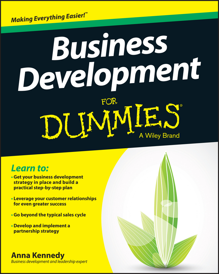 Anna Kennedy Business Development For Dummies cultural festivals and events engines of growth and development