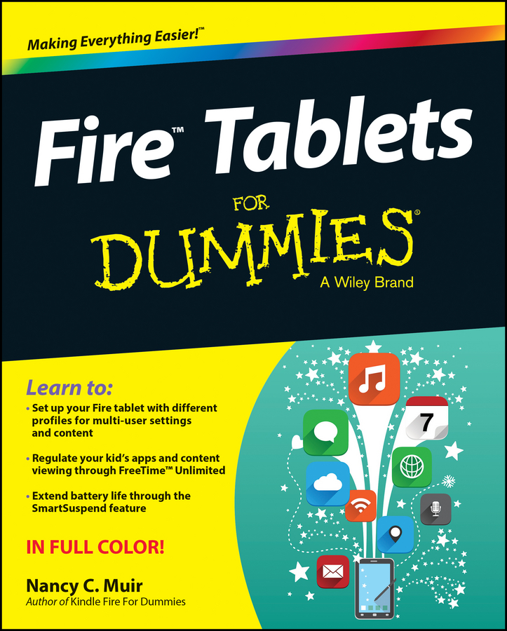 Nancy Muir C. Fire Tablets For Dummies man on fire