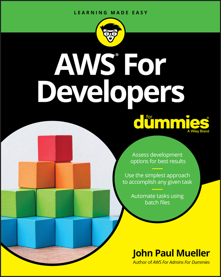 John Mueller Paul AWS for Developers For Dummies testing of web services from active to passive