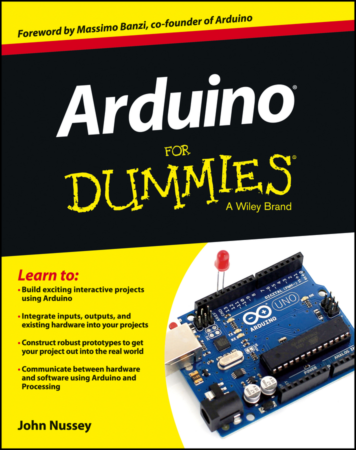 John Nussey Arduino For Dummies cg05sz 063 rain sensor for arduino black silver works with official arduino boards