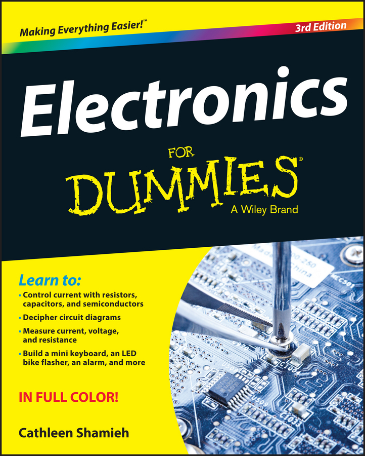 цена на Cathleen Shamieh Electronics For Dummies