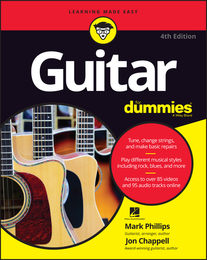 Jon Chappell Guitar For Dummies рэмо cable kit 10 white удлинитель кабеля