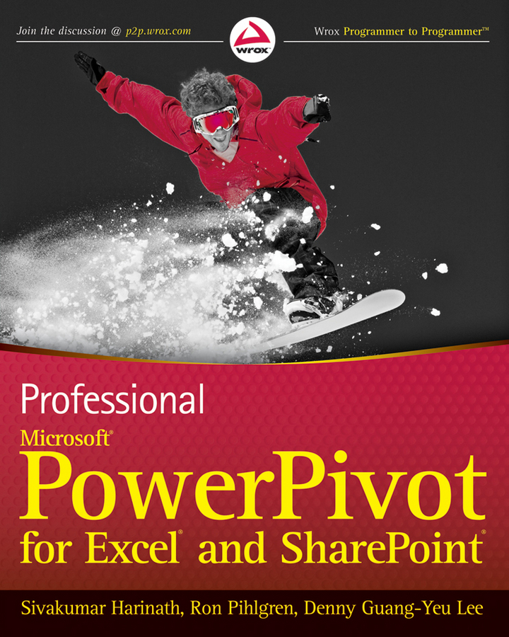 Sivakumar Harinath Professional Microsoft PowerPivot for Excel and SharePoint microsoft surface book
