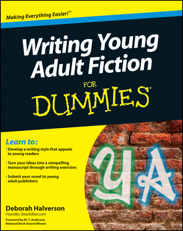 Deborah Halverson Writing Young Adult Fiction For Dummies to a young jazz musician