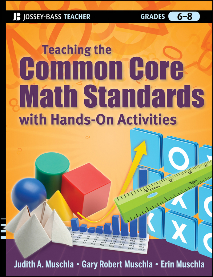 Erin Muschla Teaching the Common Core Math Standards with Hands-On Activities, Grades 6-8 newest wooden counting math toys number sticks fridge magnet mathematics early learn educational kids baby gifts