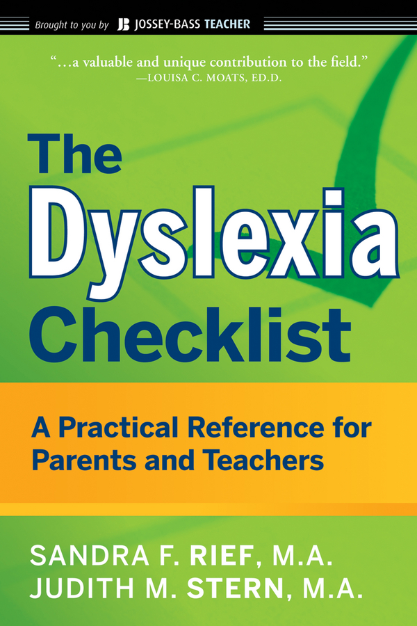 цены Judith Stern The Dyslexia Checklist. A Practical Reference for Parents and Teachers