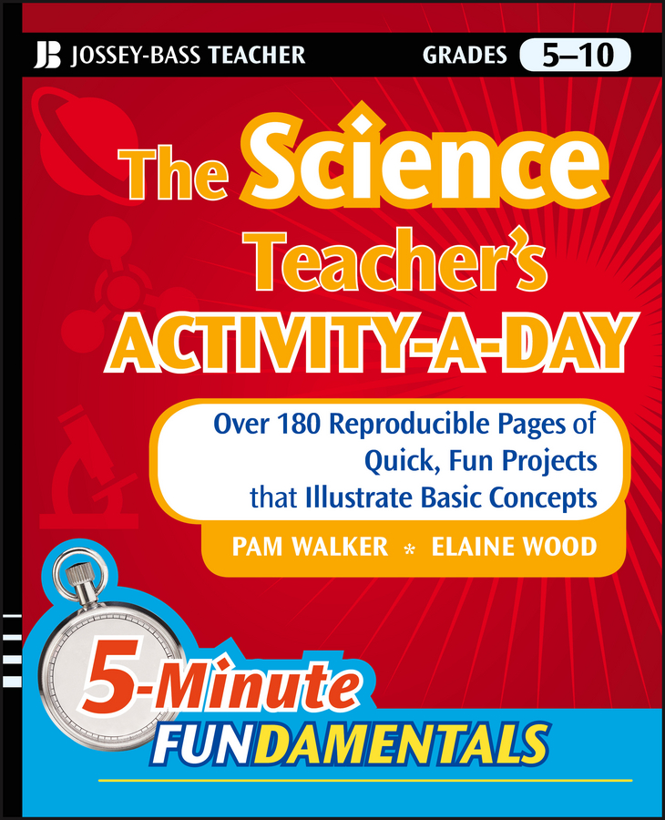 Pam Walker The Science Teacher's Activity-A-Day, Grades 5-10. Over 180 Reproducible Pages of Quick, Fun Projects that Illustrate Basic Concepts black 5 pcs traditional wax seal stick and 1 vintage spoon for all saints day invitation card