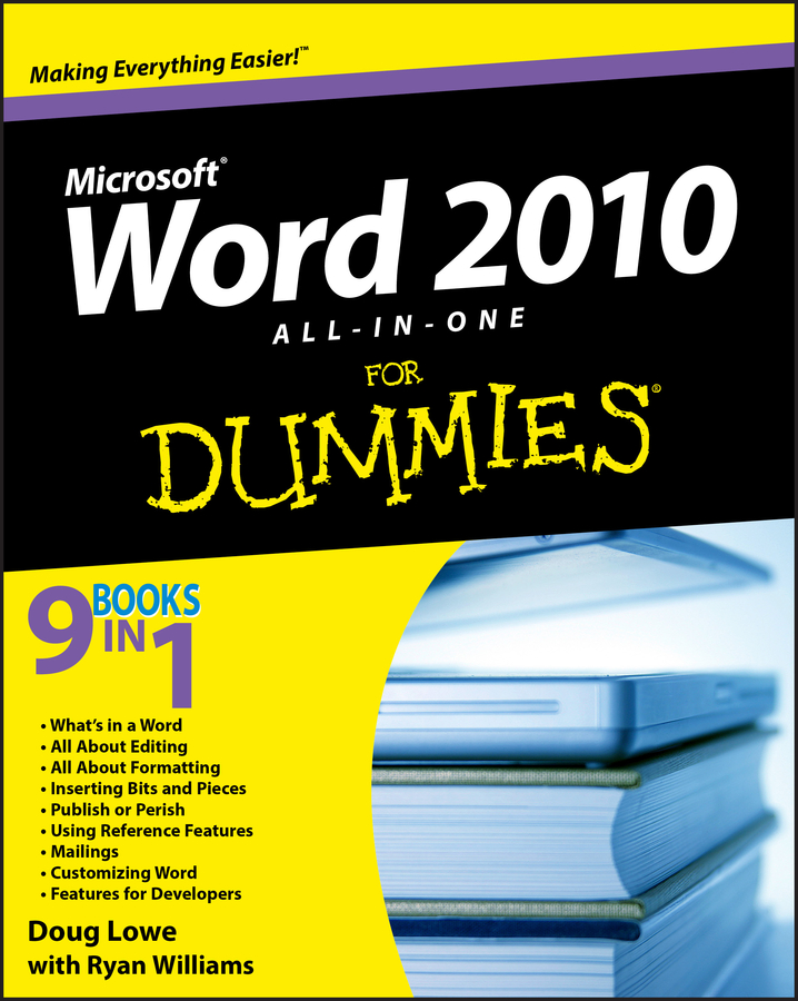 Doug Lowe Word 2010 All-in-One For Dummies elaine marmel word 2010 simplified