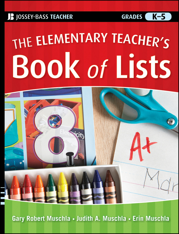 Erin Muschla The Elementary Teacher's Book of Lists все цены