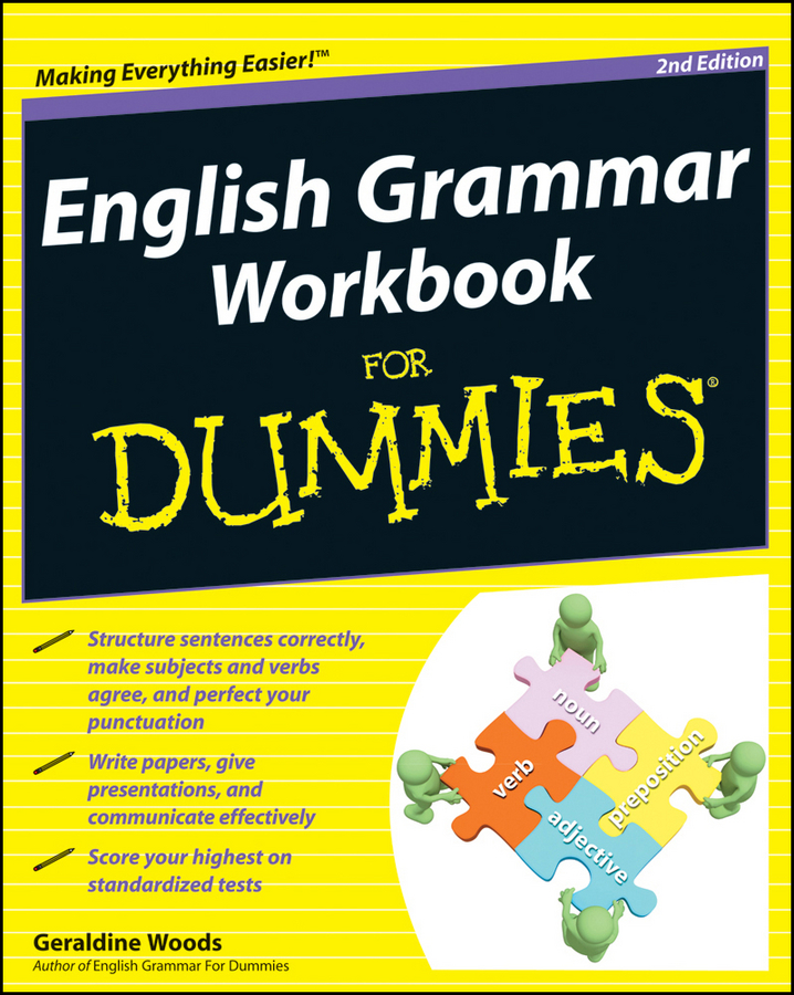 Фото - Geraldine Woods English Grammar Workbook For Dummies random house webster s grammar usage and punctuation