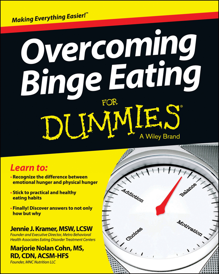 Jennie Kramer Overcoming Binge Eating For Dummies eating disorders
