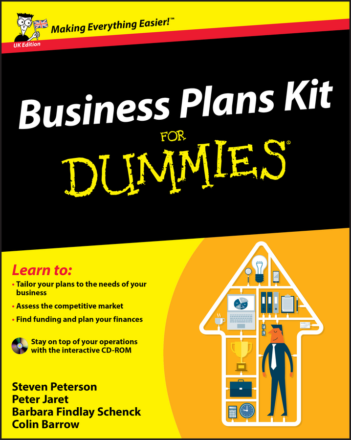 Colin Barrow Business Plans Kit For Dummies quarterback your investment plan