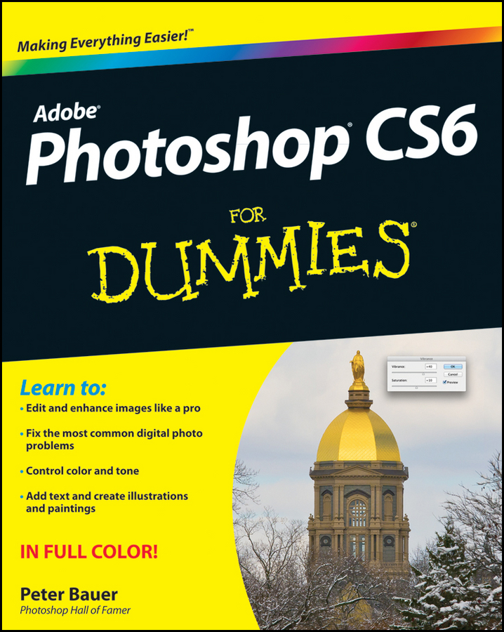 Peter Bauer Photoshop CS6 For Dummies photoshop cs6
