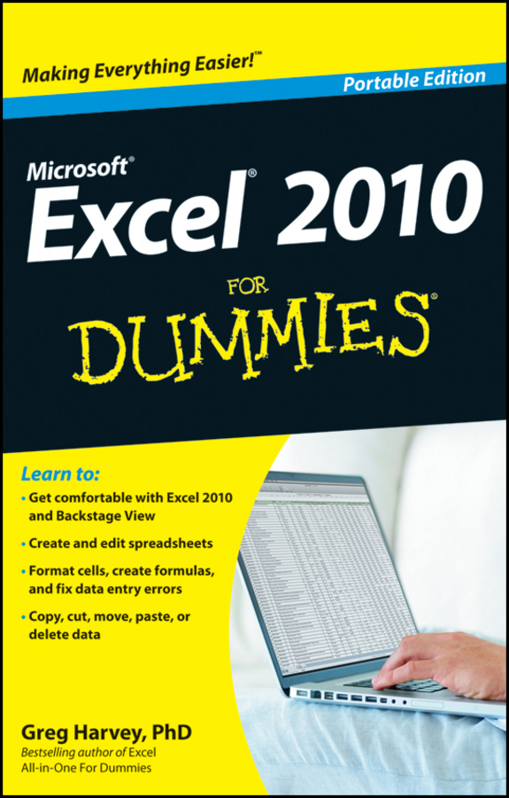 Greg Harvey Excel 2010 For Dummies цена 2017