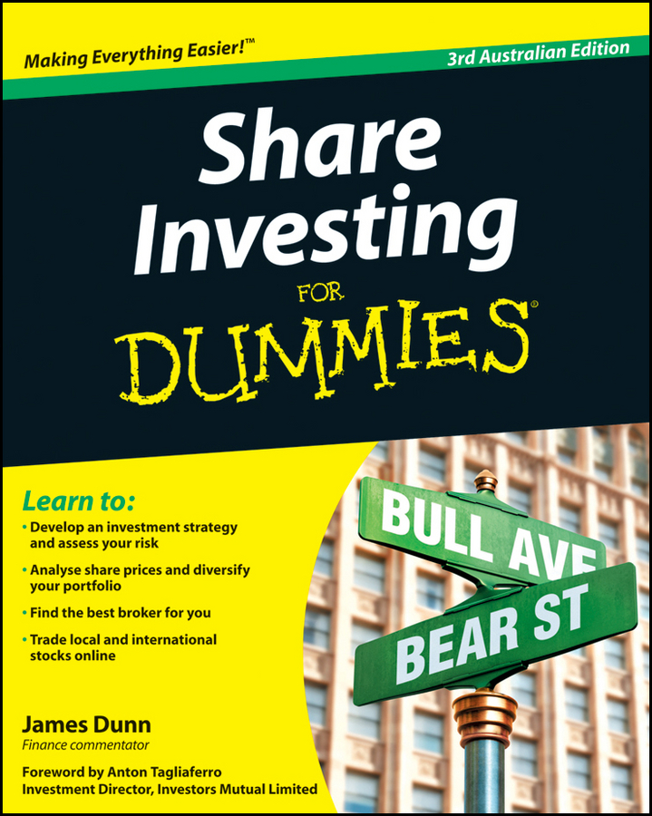 James Dunn Share Investing For Dummies alpesh patel the online trading cookbook