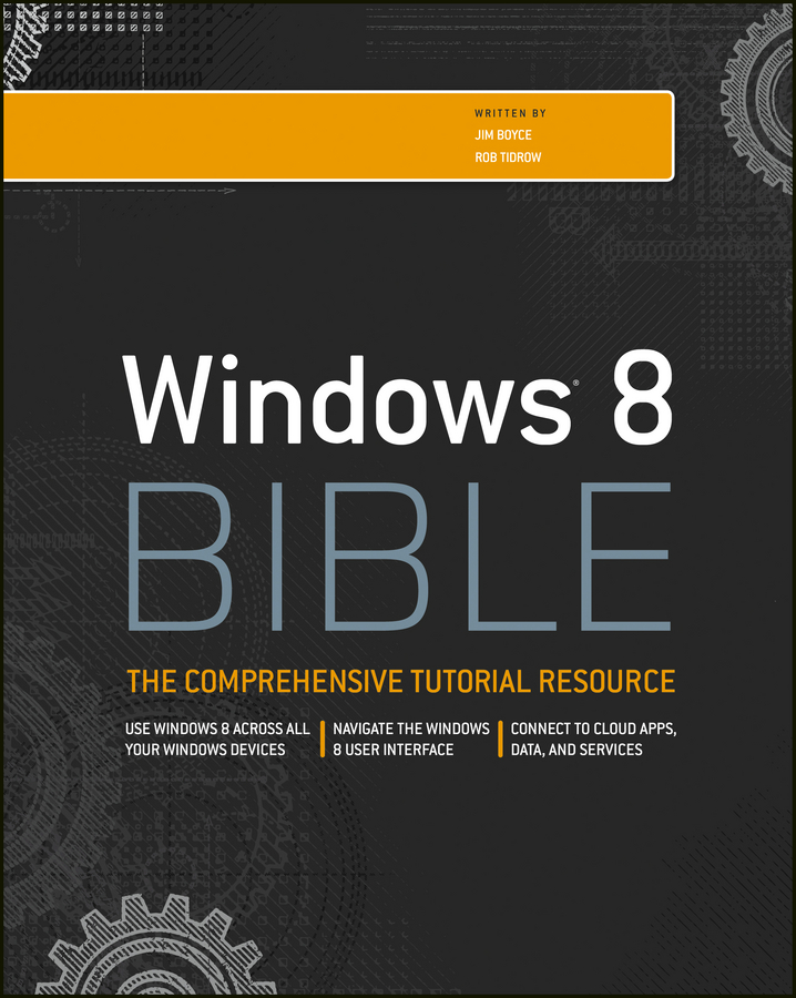 Rob Tidrow Windows 8 Bible pizza bible the
