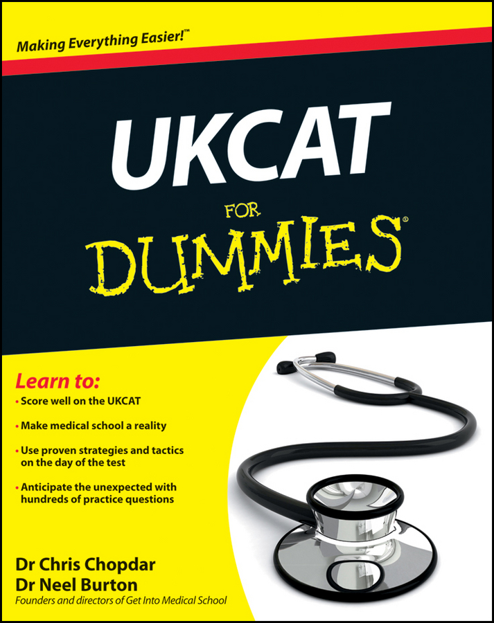 Neel Burton UKCAT For Dummies medical examination special dental suture model gasen den006