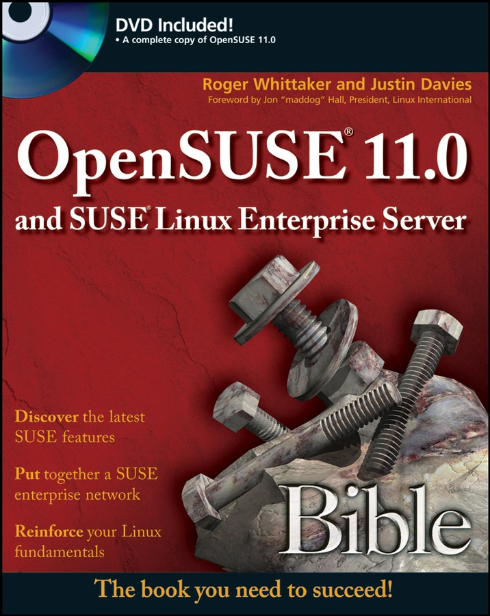 Roger Whittaker OpenSUSE 11.0 and SUSE Linux Enterprise Server Bible insiders