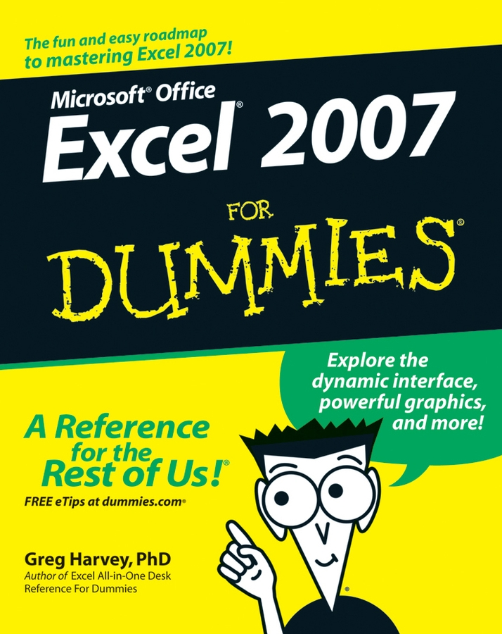 Greg Harvey Excel 2007 For Dummies microsoft excel data analysis and business modeling
