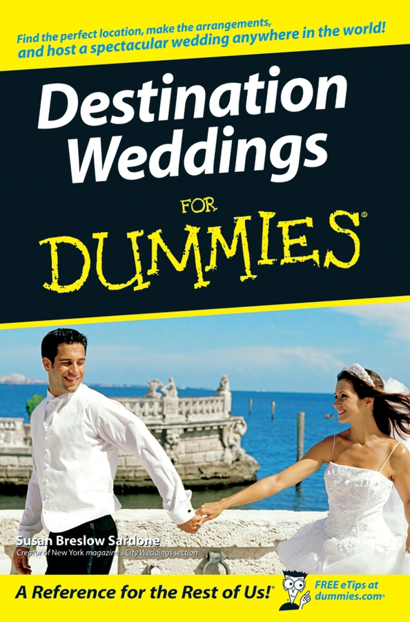Susan Sardone Breslow Destination Weddings For Dummies married to the game
