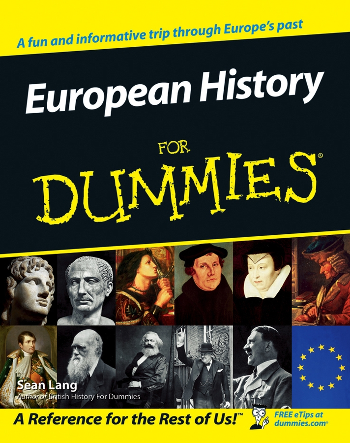 Sean Lang European History for Dummies swissgear 15 6 0640 sa1460