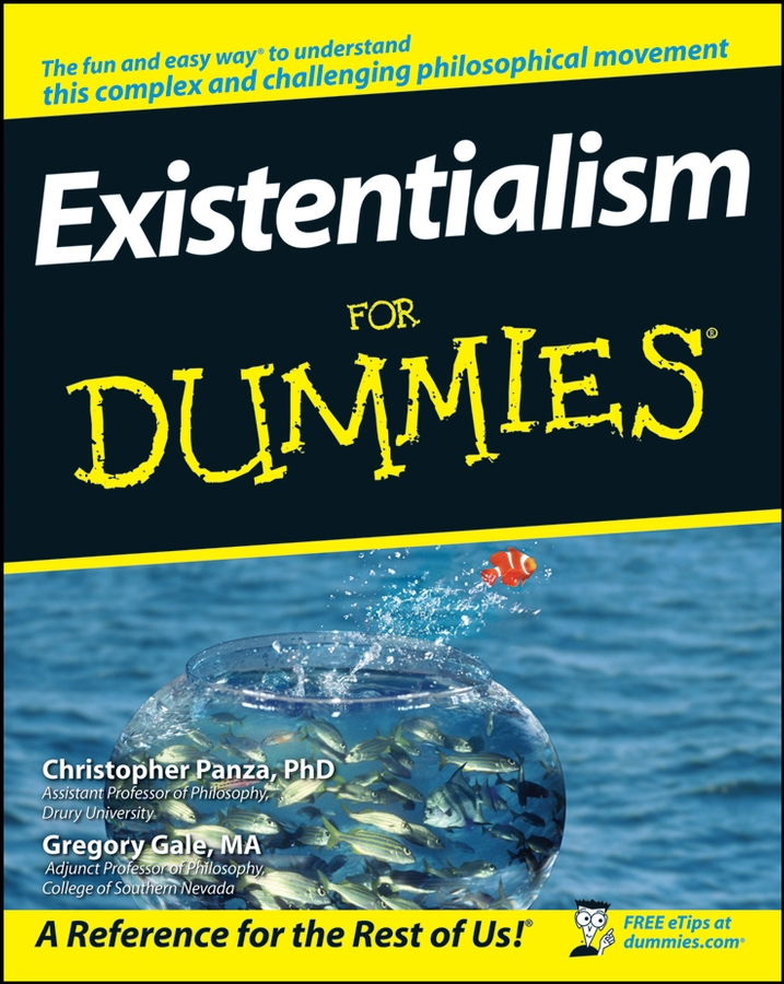 Christopher Panza Existentialism For Dummies цены